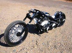 B&W Custom Chopper