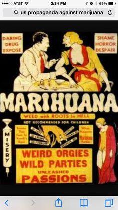 Old Vintage Funny Weird Strange Marijuana Propaganda Poster Wall Art Photo Pic Humor Vintage, Funny Vintage Ads, Comics Vintage, Pin Up Vintage, Pub Vintage, Vintage Signs, Vintage Posters, Vintage Ladies, Modern Posters