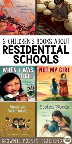 Children's books about residential schools ##kidsbooks