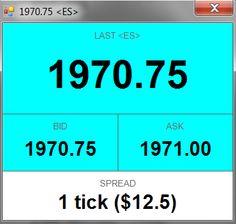 Active Market Monitor for NinjaTrader - ninZa.co