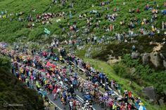 The Tour de France,  riders vs spectators.