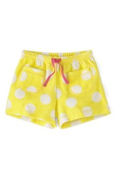 Mini Boden 'Towelling' Shorts (Toddler Girls, Little Girls & Big Girls)(Online Only) available at #Nordstrom