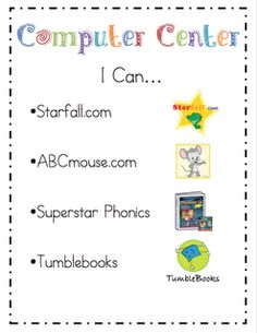 "Mrs. Ricca's Kindergarten: Literacy Center ""I Can"" Cards {Freebie}    Like the idea"