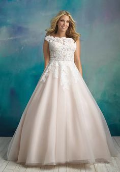 Allure Bridal Women Size Colleciton 2020 Prom Dresses, Bridal Gowns, Plus Size Dresses for Sale in Fall River MA Classic Wedding Gowns, Celebrity Wedding Dresses, Wedding Dresses For Girls, Bridal Wedding Dresses, Wedding Dress Styles, Wedding Bride, Lace Wedding, Dream Wedding, Allure Bridals