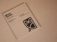 Graphical House - Maeve Durnan business card