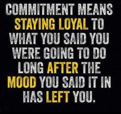 Quote, Fitspiration, motivation, commitment
