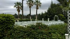 Wedding Ceremony set up- Knollwood Country Club