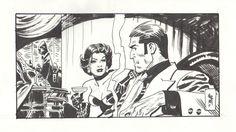 Jordi Bernet Torpedo Illustration Comic Art