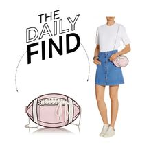 """""""The Daily Find: 91.2 Rugby Girl Shoulder Bag"""" by polyvore-editorial ❤ liked on Polyvore featuring DailyFind"""