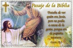 Vidas Santas: Santo Evangelio según san Lucas 19:3