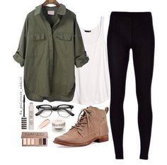 Blouse: kaki coat fashion summer outfits shoes shirt sunglasses pants tank top