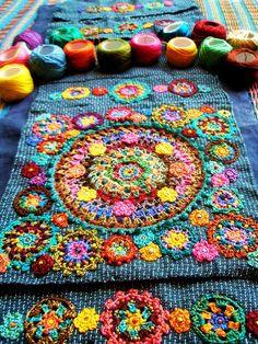 manta chica muy buen colorido
