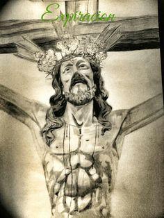 Cristo de la Expiracion a lápiz, Huelva