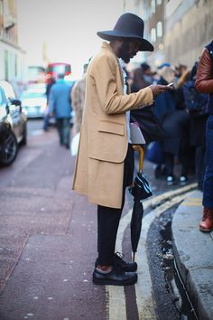 STREETSTYLE London Collections Men #London #Streetstyle
