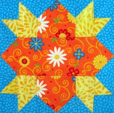 Starwood Quilter: Morning Quilt Block