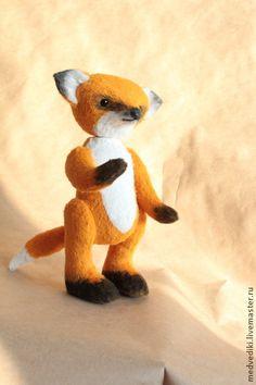 Лис Лаврентий - рыжий,лис,лис тедди,друзья тедди,авторская игрушка,подарок