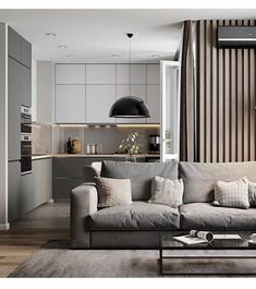 Getting Bored With Your Home? Use These Interior Planning Ideas – Lastest Home Design Living Room Kitchen, Home Living Room, Living Room Designs, Living Room Decor, Apartment Interior Design, Kitchen Interior, Interior Styling, 3d Max Vray, Appartement Design