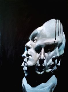Oil on canvas 80x60 cm - Untitled - Elia Bonetti