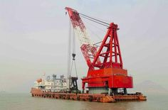1200 Tons Crane barge for Sale