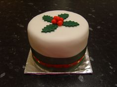 - Traditional Christmas cake