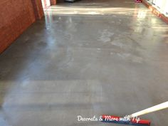 I am so happy on how my back porch concrete floor turned out. Since you are here, you must want to see how I mastered this look. Concrete Patios, Concrete Wood Floor, Concrete Stain Colors, Painted Concrete Floors, Cement Walls, Painting Concrete, Stained Concrete, Concrete Countertops, Floor Painting