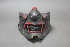 Your place to buy and sell all things handmade Escudo Viking, Paintball Gear, Paintball Field, Oni Mask, Skull Mask, Cosplay Helmet, Japanese Mask, Airsoft Helmet, Cool Masks