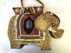 SOLD. Elephant Purse, $45.00 by Retro Rosie's Vintage