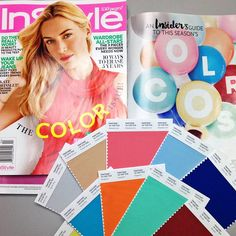"1,830 харесвания, 29 коментара – PANTONE (@pantone) в Instagram: ""We're Floating on Air Over @instylemagazine's Color Issue. Get an Insider's Guide to Spring 2015…"""