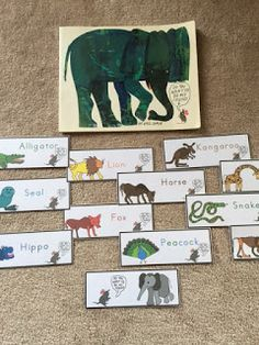 "Preschool Printables: ""Do You Want To Be My Friend?"" book by Eric Carle"