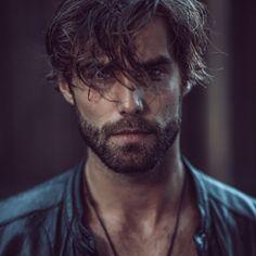 Jean Noir - Male Portrait - Men - Fashion - Photography - Editorial - Masculine - Style - Edgy