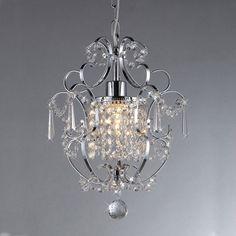 Warehouse of Tiffany Princess 1 Light Crystal Chandelier
