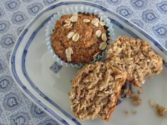 BrenDid Healthy Oatmeal Muffins (No Flour No Sugar No Oil)