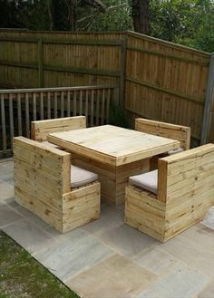 Garden Furniture Crates outdoor furniture made with pallets | pallets, pallet patio