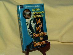ALFRED HITCHCOCK PRESENTS 14 MY FAVORITES SUSPENSE DELL 3630 5TH PRINT APR 1963