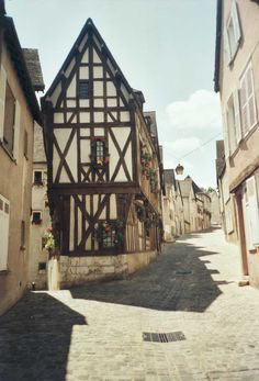 Chartres, Centre Region, France. Chartres is 60 miles southwest of Paris. This city is well known for its cathedral. (V)