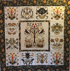 Morris Quilt Fabric Patterns, Quilts, Blanket, Gallery, Artist, Quilt Sets, Artists, Quilt