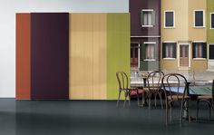 N.O.W Wardrobe Colors by Daniele Lago   #Lago, #Interiors,#Colour, #Design, #Lightness, #Innovation  #Living, #Storage, #  #Bedroom, #Bed, #Night, #Young