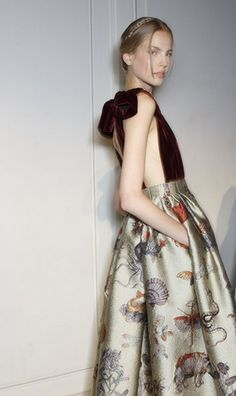 Valentino Couture Fall 2013 at Paris Fashion Week.... If you need me I'll be at the gym
