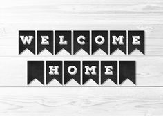 image regarding Welcome Home Banner Printable called 24 Simplest Welcome household banners shots within just 2019 Cost-free printable