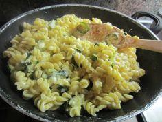 Pasta with Zucchini, Ricotta and Parmisan www.easyitaliancuisine.com