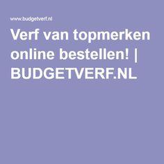 Verf van topmerken online bestellen! | BUDGETVERF.NL