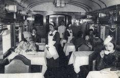 77년 전 한반도 풍경(사진) - 경부선 식당차 Dining Car on the Gyeongbu-seon Railway Line 1938