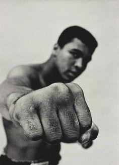 Muhammad Ali by Thomas Hoepker