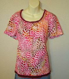 Baby Phat Scrubs Nursing Uniform Bright as a Feather Top Short Sleeve Pockets  #BabyPhat #Tunic #Career