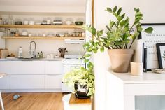 """Their style is """"Cozy Martha Stewart mixed with a neutral Scandinavian color palette."""""""