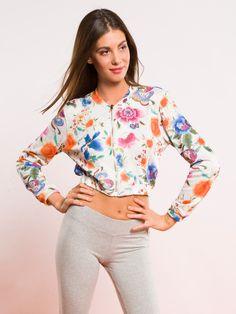 BOMBER BOMB/U #metjeans #metloves #sprinsummer17 #ss17 #collection #spring #summer #outfit #fashion #womenfashion #women #apparel #jeans #denim #bomber #flowers