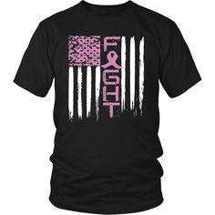 Fight cancer awareness t-shirt breast cancer shirt Pink – teefim Diy Tie Dye Techniques, Lung Cancer Awareness, Breast Cancer Shirts, Pink Out, Shirt Designs, Mens Tops, T Shirt, Cricut, Fundraising Ideas