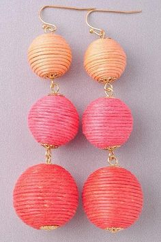 Holiday Boutique, Coral, Drop Earrings, Jewelry, Jewlery, Jewels, Jewerly, Jewelery, Chandelier Earrings