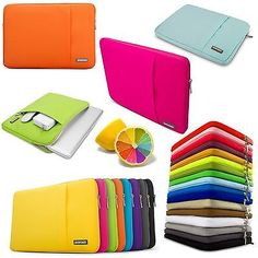 Laptop Soft Sleeve Bag Case Pouch For DELL HP ACER ASUS LENOVO Thinkpad SONY