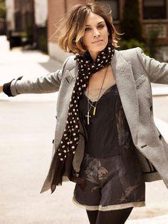 943563cfba3e fashion is amazing. Love Her Style, Alexa Chung Bob, Alexa Chung Style,